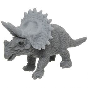 Iwako Animals: Dinosaur Triceratops(Grey)