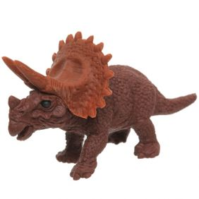 Iwako Animals: Dinosaur Triceratops(brown)