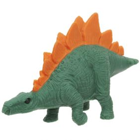Iwako Animals: Dinosaur Stegosaurus (dark green)