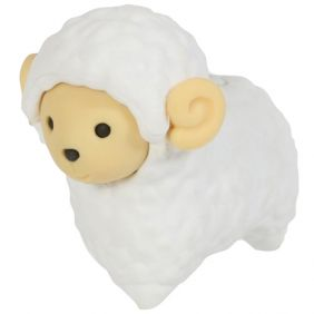 Iwako Animals: Sheep (white)