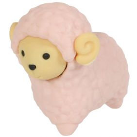 Iwako Animals: Sheep (pink)