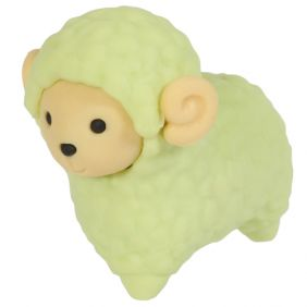 Iwako Animals: Sheep (green)
