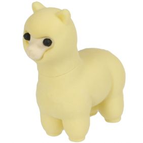 Iwako Animals: Llama (yellow)