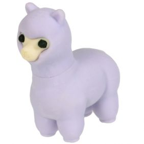 Iwako Animals: Llama (purple)