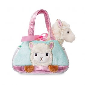 Aurora World 60935 Fancy Pal Peek-a-Boo Alpaca Toy