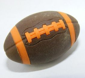 Iwako Sports: American Football Brown Rugby Japanese Eraser