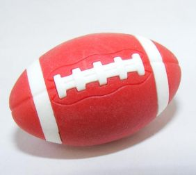 Iwako Sports: American Football Red Rugby Japanese Eraser