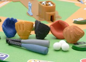 Iwako by Themes: Classic Baseball Bats Gloves Mitts Erasers