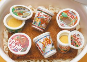 Iwako by Themes: Instant Cup Noodles Erasers