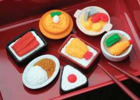 Iwako by Themes: Japanese Foods Erasers