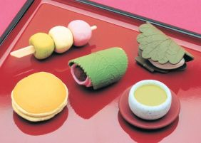 Iwako by Themes: Japanese Sweets Dessert Erasers