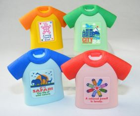Iwako by Themes: 4 colour T-Shirts Japanese Erasers