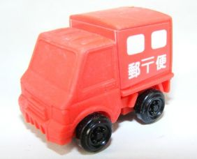 Iwako Red Delivery Truck Japanese Eraser