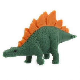 Iwako Dark Green Stegosaurus Japanese Eraser from Japan