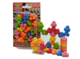 Iwako Free Style Hexagon Puzzle Japanese Erasers set from Japan