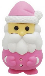 Iwako Pink Santa Claus Japanese Eraser from Japan