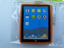 Kawaii: Orange iPad Shape Eraser