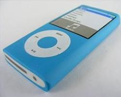 Kawaii: Blue ipod Shape Eraser
