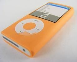 Kawaii: Orange ipod Shape Eraser