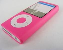 Kawaii: Pink ipod Shape Eraser