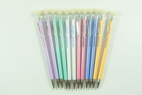 PartyErasers 12 pieces 0.5mm Lead Mechanical Pencil with pearl like bobble on top