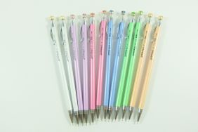 PartyErasers 12pieces 0.5mm Lead Mechanical Pencil with Sparkling Gem on top