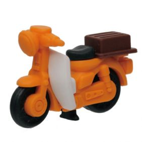 Iwako Trucks: Mini Bike Japanese Eraser