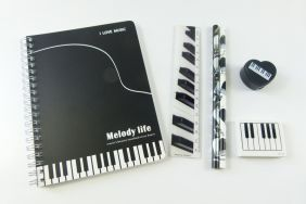 Music Themed Music Themed Melody Life Stationery Set