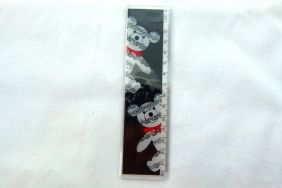 Music Themed Musical Bear Design 15cm Ruler