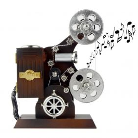 Music Themed The Projector Music Box
