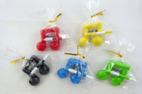 Music Themed Bright Colour Beam Note Clip with Pens (6 pieces mix colours)