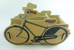 DIY Board Box with Compartments - Bicycle
