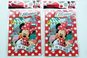 PartyErasers Pack of 2 Disney Minnie 15 sheets B6 Lined Notebooks