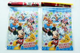 PartyErasers Pack of 2 Disney Mickey and Friends 15 sheets B6 Lined Notebooks