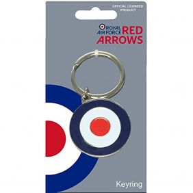 Royal Air Force Red Arrows Roundel Keyring