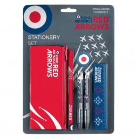 Royal Air Force Red Arrows 6 pieces Stationery Set
