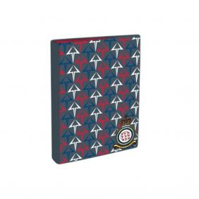 Royal Air Force Red Arrows A4 Ring Binder - Grey with White/Blue/Red Arrows Design