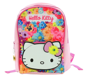 Hello Kitty Backpack with Adjustable Shoulder Straps