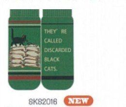 Shinzi Katoh A Pair of Ladies Socks (Women's Socks) - Portobello cat book Design