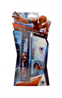 SpiderMan 5 pieces Stationery Set