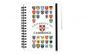 University of Cambridge Design Notebook 12cm x 15cm