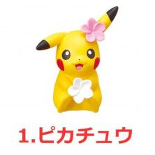 Re-Ment Pokemon Big Eraser Figure 2 - Pikachu