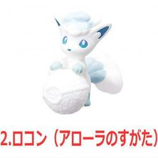 Re-Ment Pokemon Big Eraser Figure 2 - Alola Vulpix